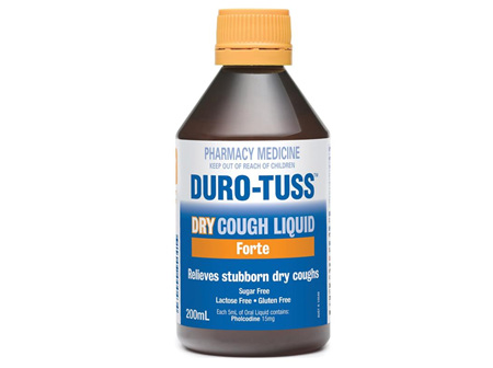 Duro Tuss Dry Cough Liquid Forte 200ml