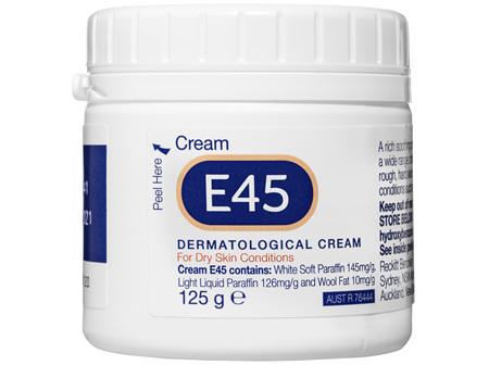 E45 Moisturising Cream for Dry Skin & Eczema 125g