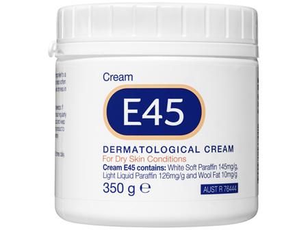 E45 Moisturising Cream for Dry Skin & Eczema  350g
