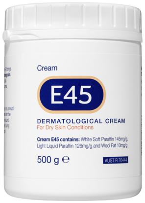 E45 Moisturising Cream for Dry Skin & Eczema 500g