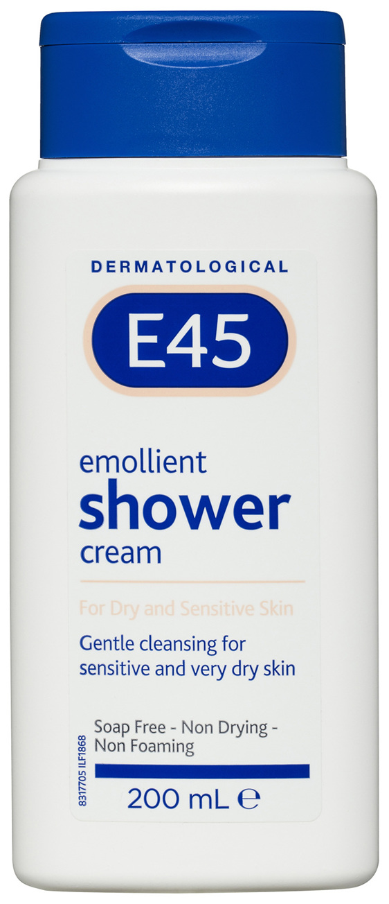 E45 Moisturising Shower Cream 200mL