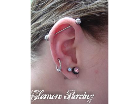 Ear Piercing Needle