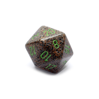 Earth' Large Twenty Sided Dice