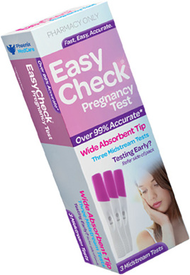 Easycheck Pregnancy Test 3 Test