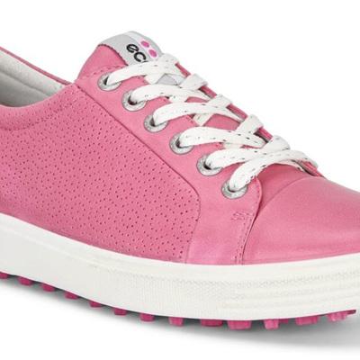 Ecco Casual Hybrid Golf Shoe - Pink