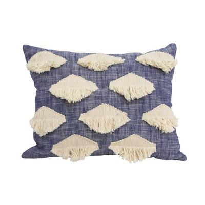 Eden Cushion - Navy Blue 40x60cmh