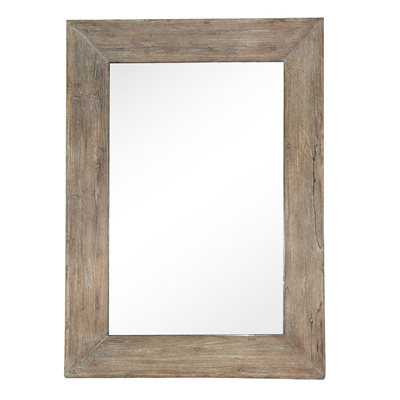 Eden Rectangle Wooden Mirror