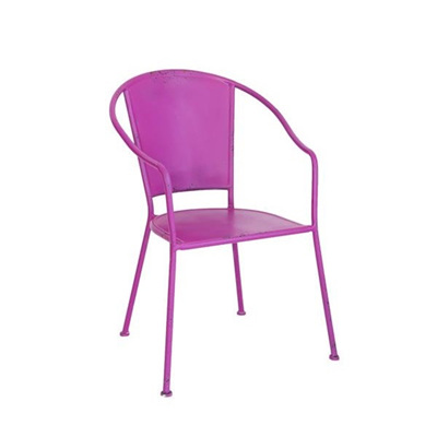 Edith Terrace Chair - Pink