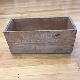 Edmonds Baking Powder Crate