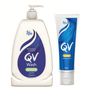 EGO QV Wash 500ml + Cream
