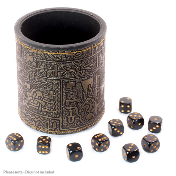 Egyptian Dice Cup Dice Accessories Games and Hobbies New Zealand NZ