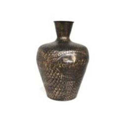Ekon Metal Vase - Black Gold/Large