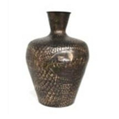 Ekon Metal Vase - Black Gold/Small