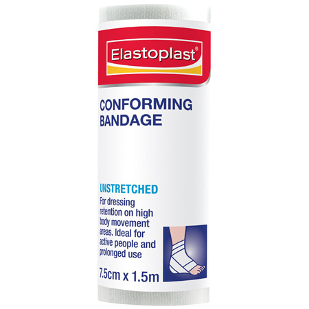 Elastoplast Bandage Conforming Unstretched 7.5cm x 1.5m
