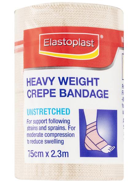 Elastoplast Bandage Crepe Unstretched 7.5cm x 2.3m