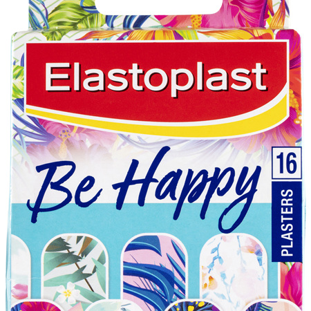 Elastoplast Be Happy Limited Edition Plasters 16 Pack
