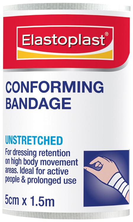 Elastoplast Conforming Bandage Unstretched 5cm x 1.5m