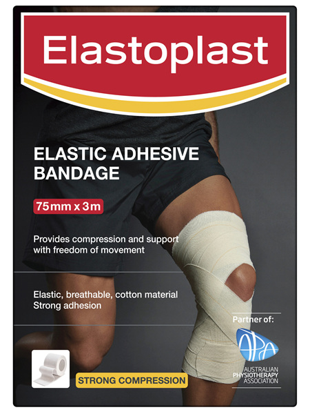 Elastoplast Elastic Adhesive Bandage 75mm x 3m