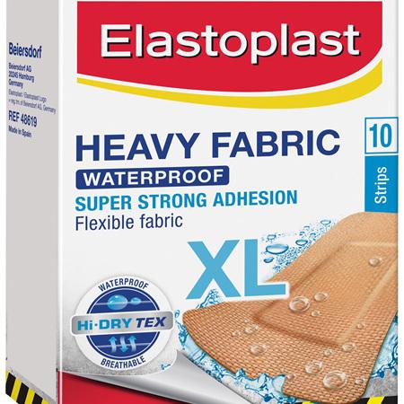 Elastoplast Heavy Fabric Extra Large Strips 10 Pack