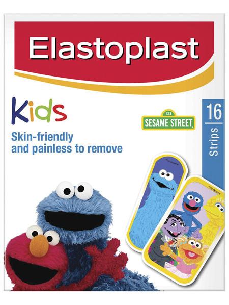 Elastoplast Kids Sesame Street Plasters 16 Strips