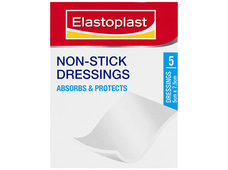 Elastoplast Non-Stick Dressings 5 Pack