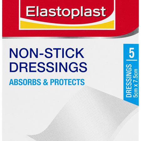 Elastoplast Non-Stick Dressings 5 Pack