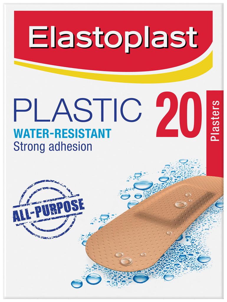 Elastoplast Plastic Plasters 20 Strips