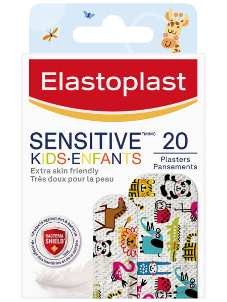 Elastoplast Sensitive Kids 20 Pack