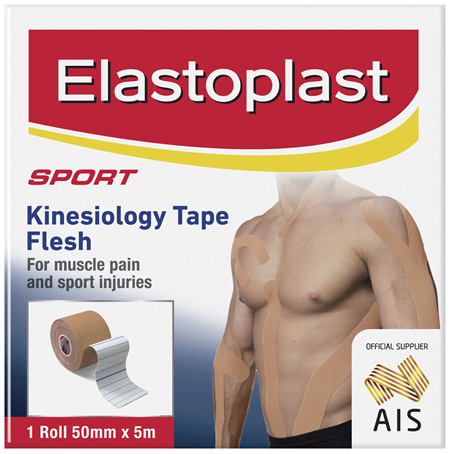 Elastoplast Sport Kinesiology Tape Flesh 1 Pack