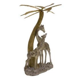 Elephant And Palm Tree