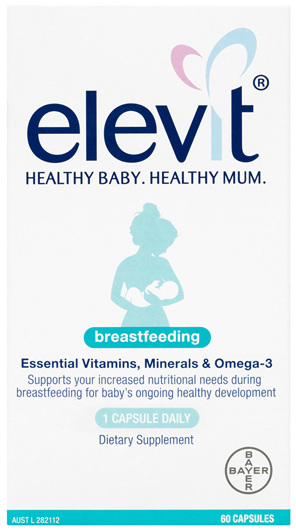 Elevit Breastfeeding Multivitamin Capsules 60 Pack (60 Days)