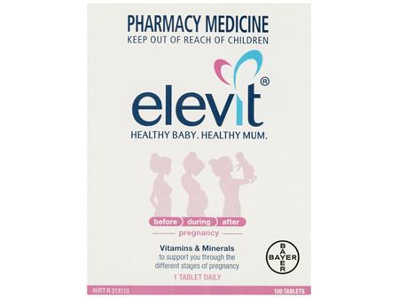 ELEVIT Iodine Pregnancy Supp. 100tb