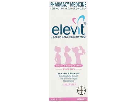 ELEVIT Iodine Pregnancy Supp. 30tb