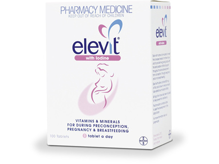 Elevit Iodine Pregnancy Supplement 100