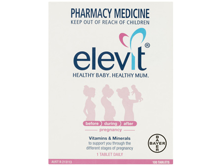 Elevit Pregnancy Multivitamin 100 Tablets