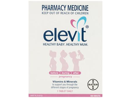 Elevit Pregnancy Multivitamin Tablets 100 Pack (100 Days)