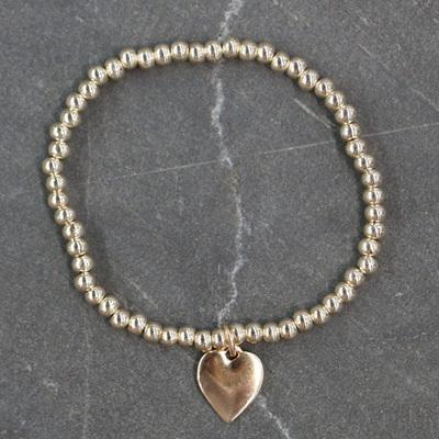 Eli Heart Bracelet - Gold