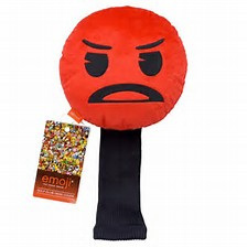 Emoji Angry Face Head Cover