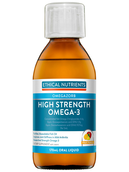 EN Hi-Str. Liquid Fish Oil 170ml