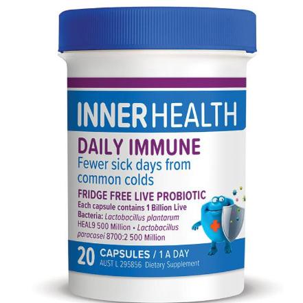 EN Inner Health Daily Immune 20cap
