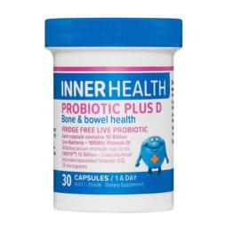 EN Inner Health Probiotic Plus D 30cap