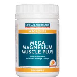 EN Mega Magnesium Muscle Plus Powder 135g