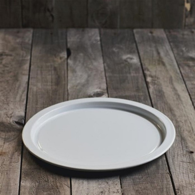 Enamel Pizza Pan - White