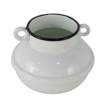 Enamel Pot - Double Handle