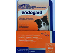 ENDOGUARD DOG UP TO 20KG WORMER 3 PACK
