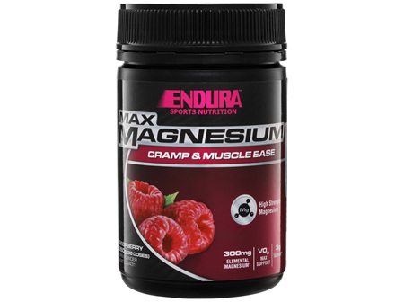Endura Max Cramp and Muscle Ease Raspberry 260g