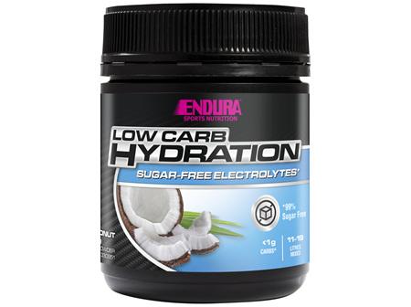 Endura Rehydration Low Carb Fuel Coconut 122g