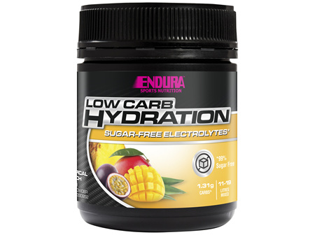 Endura Rehydration Low Carb Fuel Tropical Punch 135g