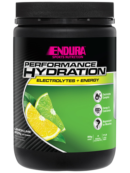 Endura Rehydration Performance Fuel Lemon Lime 800g