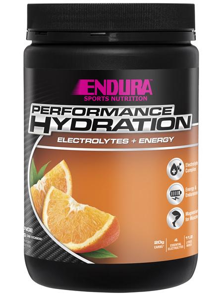Endura Rehydration Performance Fuel Orange 800g